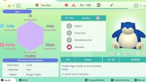 SNORLAX GIGAMAX ULTRA SHINY 6IVS COMPETITIVO