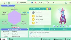 TOXTRICITY GRAVE GIGAMAX ULTRA SHINY 6IVS COMPETITIVO