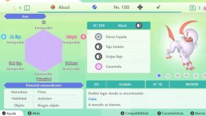 ABSOL ULTRA SHINY 6 IVS COMPETITIVO