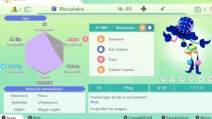 BLACEPHALON ULTRA SHINY 6 IVS COMPETITIVO