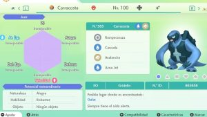 CARRACOSTA ULTRA SHINY 6 IVS COMPETITIVO
