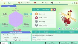 COMBUSKEN ULTRA SHINY 6 IVS COMPETITIVO