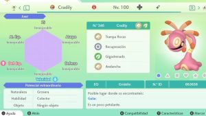CRADILY ULTRA SHINY 6 IVS COMPETITIVO