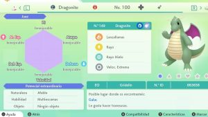 DRAGONITE ULTRA SHINY 6 IVS COMPETITIVO