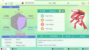 GENESECT ULTRA SHINY 6 IVS COMPETITIVO