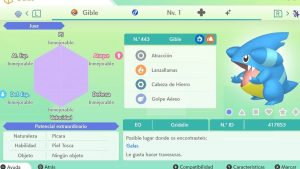 GIBLE ULTRA SHINY 6 IVS COMPETITIVO