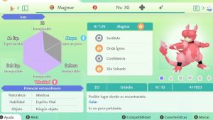 MAGMAR ULTRA SHINY 6 IVS COMPETITIVO