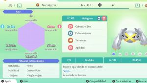 METAGROSS ULTRA SHINY 6 IVS COMPETITIVO