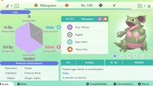 NIDOQUEEN ULTRA SHINY 6 IVS COMPETITIVO